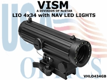 VISM LIO SCOPE - 4 X 34mm with NAV LED LIGHTS