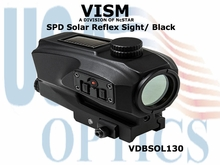 VISM SPD SOLAR REFLEX SIGHT/ BLACK
