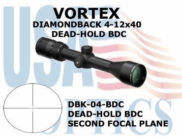 VORTEX DIAMONDBACK 4-12x40 DEAD-HOLD BDC
