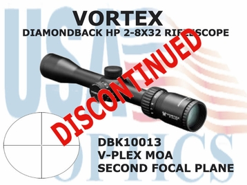 VORTEX DIAMONDBACK HP 2-8x32 V-PLEX MOA