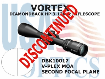 VORTEX DIAMONDBACK HP 3-12x42 V-PLEX MOA