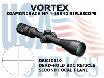 VORTEX DIAMONDBACK HP 4-16x42 DEAD-HOLD BDC
