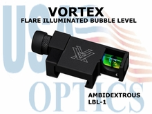VORTEX FLARE ILLUMINATED BUBBLE LEVEL