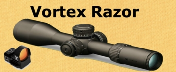 Vortex Razor Rifle Scopes