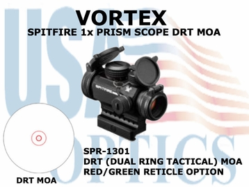 VORTEX SPITFIRE 1x PRISM SCOPE DRT MOA