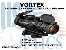 VORTEX SPITFIRE 3x PRISM SCOPE EBR-556B MOA