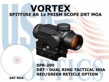 VORTEX SPITFIRE AR 1x PRISM SCOPE  DRT MOA
