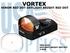 VORTEX VENOM RED DOT DAYLIGHT BRIGHT RED DOT 3 MOA