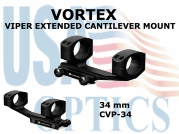 VORTEX VIPER EXTENDED CANTILEVER MOUNT - 34 mm