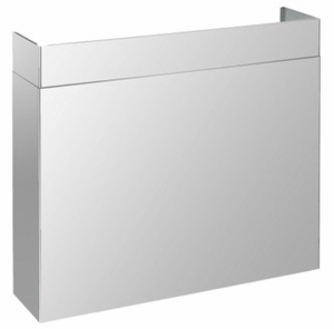 """099050200 Superiore Full Width Duct Cover for 48"""" Pro Hoods - Stainless Steel"""