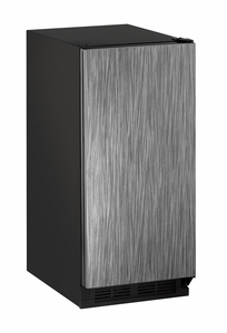 "1215RINT-00B U-Line 1000 Series 15"" Solid Door Refrigerator - Field Reversible - Integrated Solid"