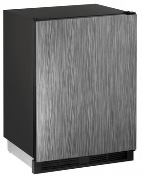 "1224BEVINT60B U-Line 1000 Series 24"" Beverage Center - Field Reversible - Integrated Solid Door"