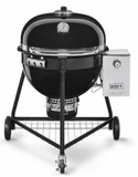 "18301001 Weber 24"" Summit Charcoal Grill with Rapidfire Lid Damper and Built-In Lid Thermometer - Black"