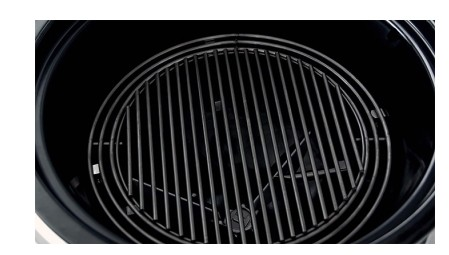 """18301001 Weber 24"""" Summit Charcoal Grill with Rapidfire Lid Damper and Built-In Lid Thermometer - Black"""