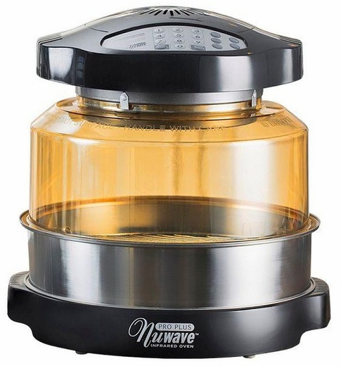 20632 Nu Wave Oven Pro Plus with Extender Ring Kit - Black