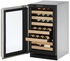 "2218WCS01A U-Line 2000 Series 18"" Wide Wine Captain with Digital Convection Cooling - Left Hand Hinge - Stainless Steel"