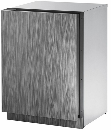 "2224ZWCINT61A U-Line 2000 Series 24"" Wide Wine Captain with Independently Controlled Dual Zones - Left Hand Hinge - Integrated Solid Custom Panel"