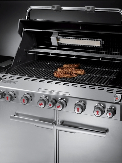 Weber Summit Stainless Steel Natural Gas Grill Center