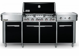 292101 Weber Summit Grill Center with 6 Burners and Tuck-Away Rotisserie - Natural Gas - Black