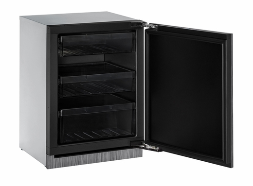 "3024RINT00B U-Line Modular 3000 Series 24"" Solid Door Refrigerator - Reversible Hinge - Integrated Solid"