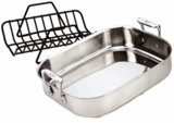 51114 All Clad Stainless 14 x 11 x 2 Roaster