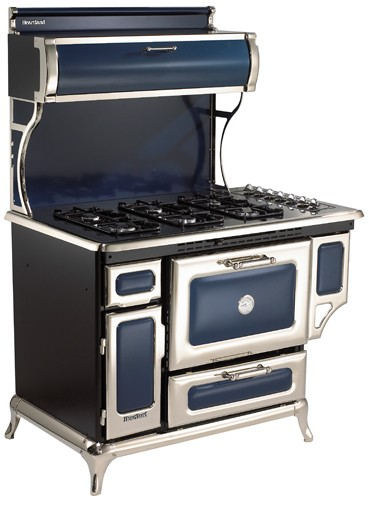"5210CDGCBL Heartland 48"" Classic Dual Fuel Range with Electric Convection  Oven - Cobalt"