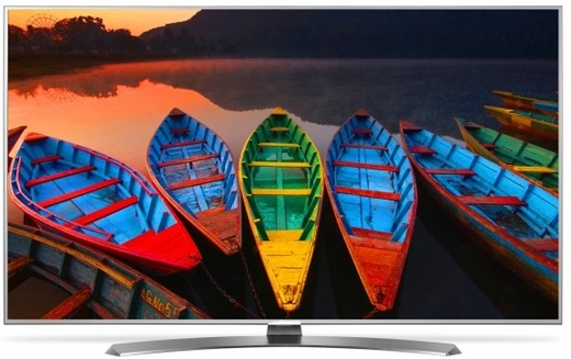"55UH7700 LG 55"" Class Smart LED 4k 2160p Ultra HDTV with TruMotion 240Hz & webOS 3.0"