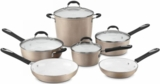 5910CH CUISINART Elements Champagne 10 Pc Cookware Set