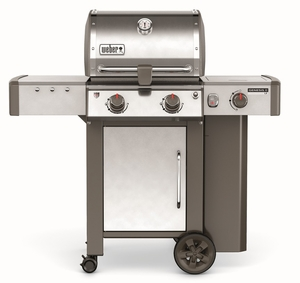 60004001 Weber Genesis 2 LX S-240 Outdoor Liquid Propane Grill with High Performance Burners and Infinity Ignition  - Stainless Steel