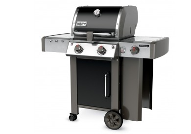60014001 Weber Genesis 2 LX E-240 Outdoor Liquid Propane Grill with High Performance Burners and Infinity Ignition  - Black