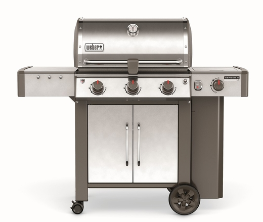 61004001 Weber Genesis 2 LX S-340 Outdoor Liquid Propane Grill with High Performance Burners and Infinity Ignition  - Stainless Steel