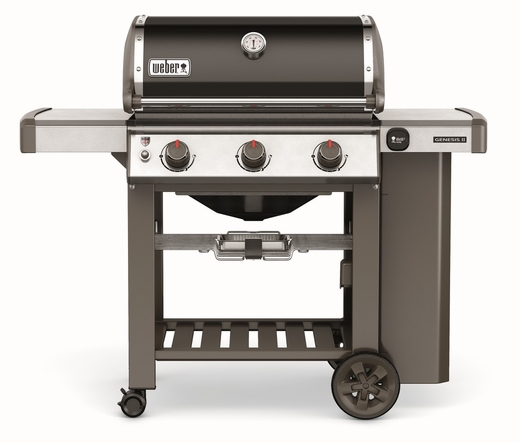 61010001 Weber Genesis 2 E-310 Outdoor Liquid Propane Grill with 3 Stainless Steel Burners and Infinity Ignition  - Black