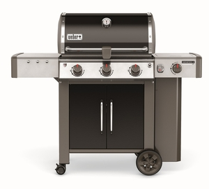61014001 Weber Genesis 2 LX E-340 Outdoor Liquid Propane Grill with High Performance Burners and Infinity Ignition  - Black