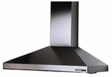 "613004 Broan Elite 30"" Wall Mount Chimney Hood with 450 CFM Internal Blower - Stainless Steel"