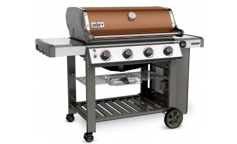 62020001 Weber Genesis 2 E-410 Outdoor Liquid Propane Grill with 4 Stainless Steel Burners and Infinity Ignition  - Copper