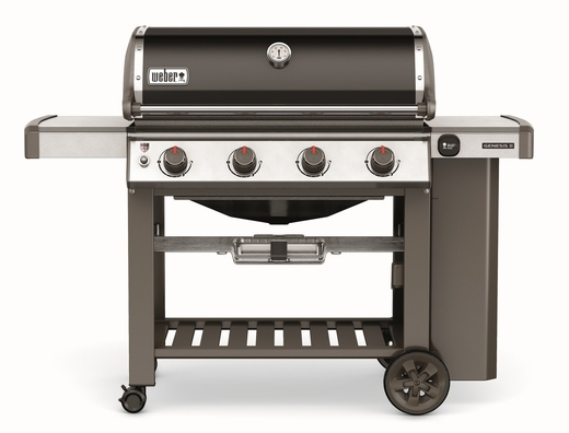 62050001 Weber Genesis 2 E-410 Outdoor Liquid Propane Grill with 4 Stainless Steel Burners and Infinity Ignition  - Smoke