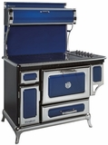 "6210CD0CBL Heartland 48"" Classic Electric Range with 5 High Performance Ribbon Burners - Cobalt"