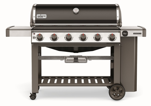 63010001 Weber Genesis 2 E-610 Outdoor Liquid Propane Grill with 6 Stainless Steel Burners and Infinity Ignition  - Black