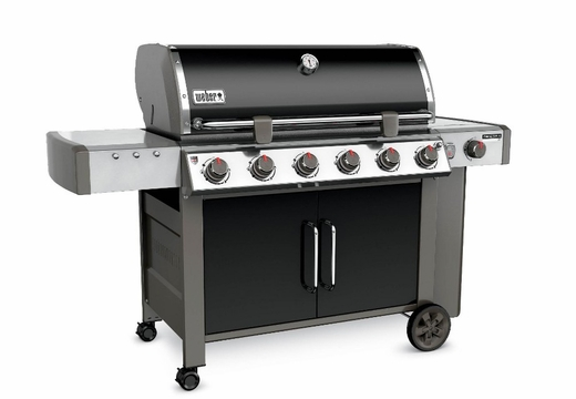 63014001 Weber Genesis 2 LX E-640 Outdoor Liquid Propane Grill with High Performance Burners and Infinity Ignition  - Black