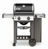 65014001 Weber Genesis 2 LX E-240 Outdoor Natural Gas Grill with High Performance Burners and Infinity Ignition  - Black