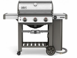 66000001 Weber Genesis 2 S-310 Outdoor Natural Gas Grill with High Performance Burners and Infinity Ignition  - Stainless Steel