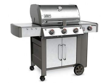 66004001 Weber Genesis 2 LX S-340 Outdoor Natural Gas Grill with High Performance Burners and Infinity Ignition  - Stainless Steel