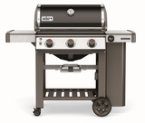 66010001 Weber Genesis 2 E-310 Outdoor Natural Gas Grill with 3 Stainless Steel Burners and Infinity Ignition  - Black