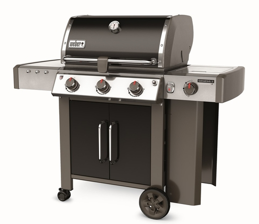 66014001 Weber Genesis 2 LX E-340 Outdoor Natural Gas Grill with High Performance Burners and Infinity Ignition  - Black