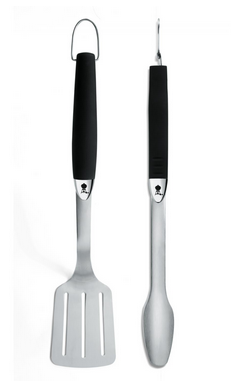 6625 Weber Original  2-Piece Stainless Steel Barbecue Tool Set