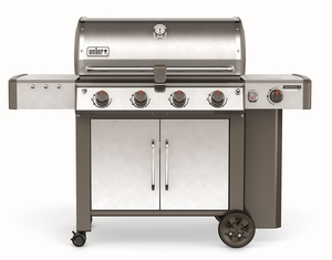 67004001 Weber Genesis 2 LX S-440 Outdoor Natural Gas Grill with High Performance Burners and Infinity Ignition  - Stainless Steel