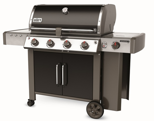 67014001 Weber Genesis 2 LX E-440 Outdoor Natural Gas Grill with High Performance Burners and Infinity Ignition  - Black
