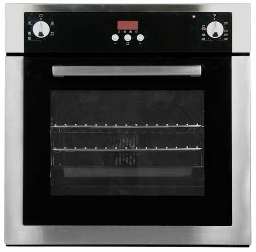 "6HA196BX Fagor 24"" European Convection Wall Oven - Stainless Steel"