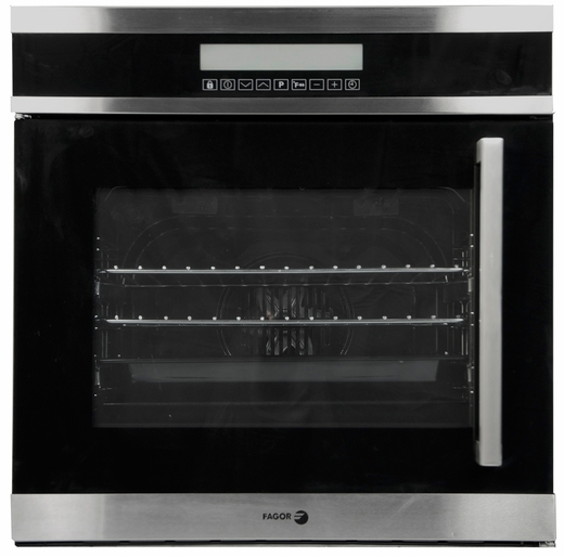 "6HA200TLX Fagor 24"" European Convection Side Opening Oven - Left Hinge - Stainless Steel"
