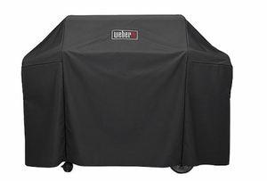 7131 Weber Premium Grill Cover For Genesis II and Genesis II LX 400 Series Gas Grills - Black